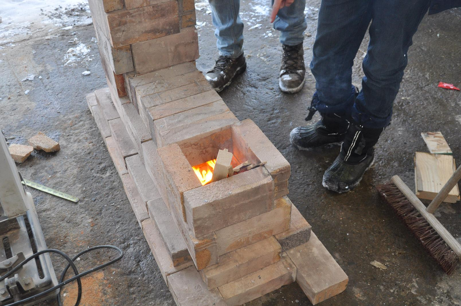 Diy fire brick rocket stove for How to make a rocket stove with bricks